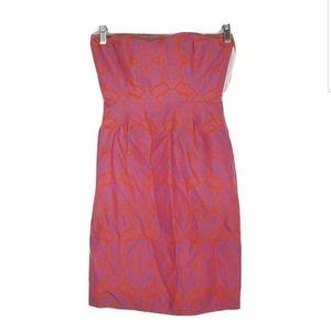 J Crew Womens Size 00 ELLA Mini Dress Strapless